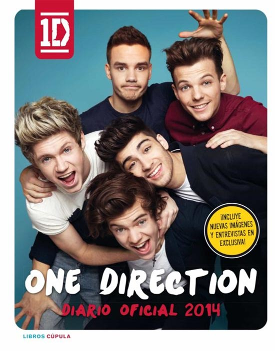 Portada de One direction Diario Oficial 2014