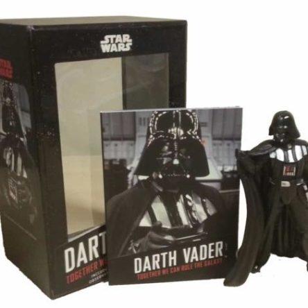 Darth Vader: Juntos dominaremos la galaxia (figura + libro)