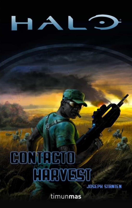 Portada de Contacto Harvest (Halo 5)
