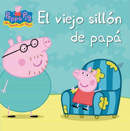 Portada de Peppa Pig: el viejo sillón de papá