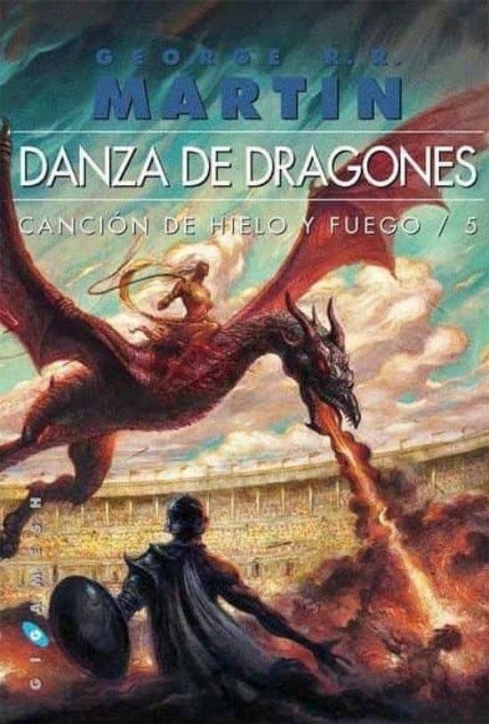 Portada de Danza de Dragones bolsillo I y II