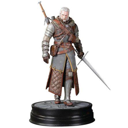 Estatua Geralt Grandmaster Ursine Witcher 3 Wild Hunt 24cm