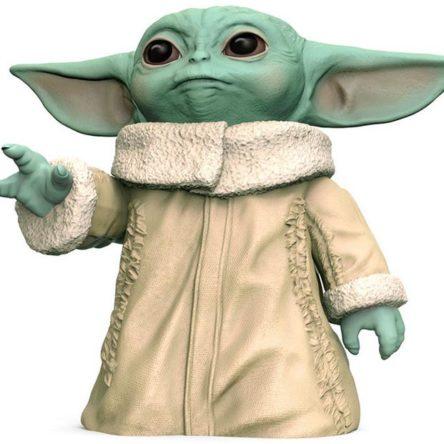 Figura de acción Baby Yoda Mandalorian Star Wars 16cm