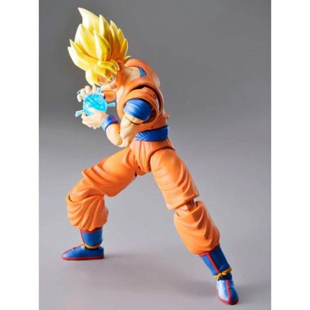 Figura Super Saiyan Goku New Version Model Kit Rise Standard Dragon Ball Z 16cm