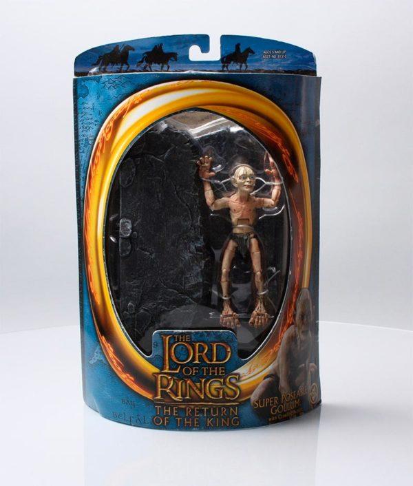 Figura de Gollum Toybiz El Señor de los Anillos