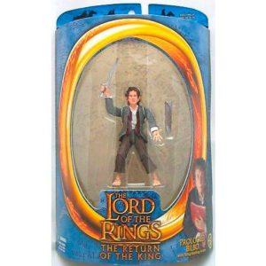 Figura Bilbo Toybiz con Dardo El Señor de los Anillos
