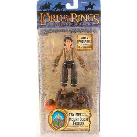 Figura Frodo Toybiz Monte del Destino – El Señor de los Anillos