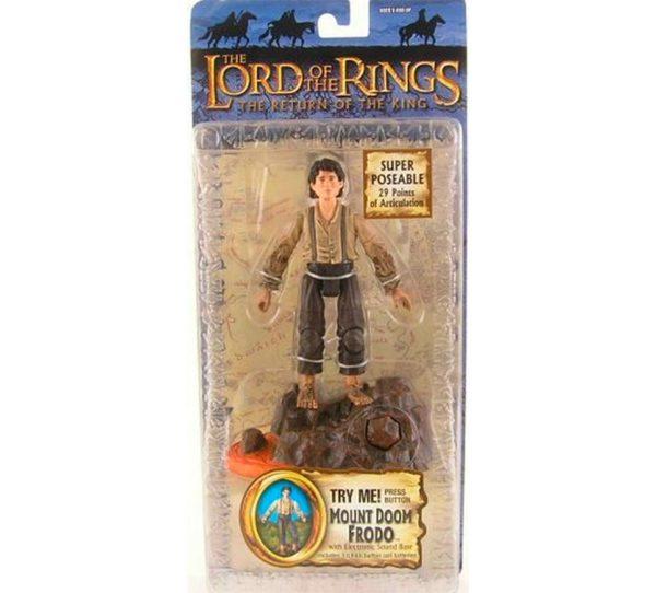 Figura Frodo Toybiz Monte del Destino - El Señor de los Anillos