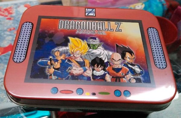Caja de cartas Dragonball Z metal 10x8cm