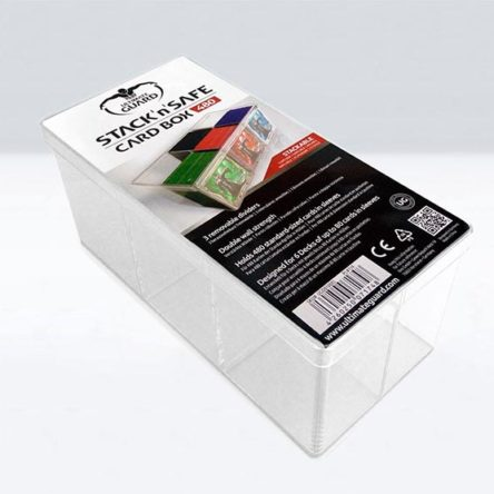 Ultimate Guard Stack´n´Safe Card Box 480 Caja de Cartas Poliestireno cristal