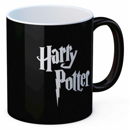 Taza logo Harry Potter