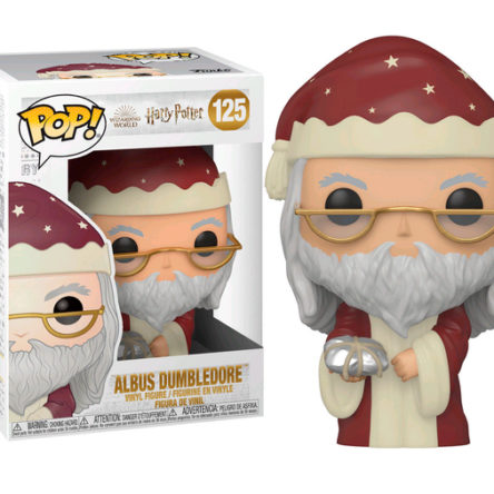 Figura Funko POP Dumbledore Vacaciones Harry Potter