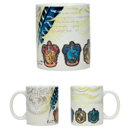 Taza Casas de Hogwarts Harry Potter