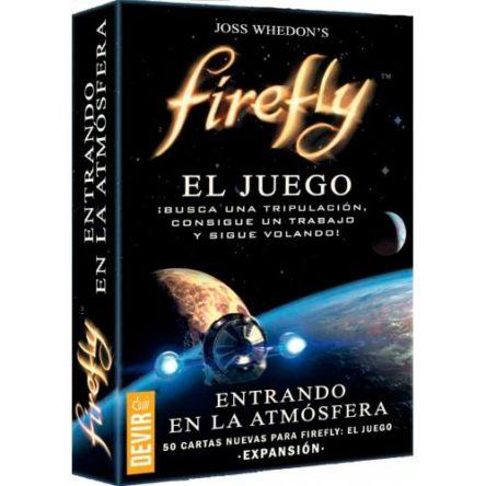 Firefly Entrando en la atmósfera (expansión – cartas) Juego de mesa