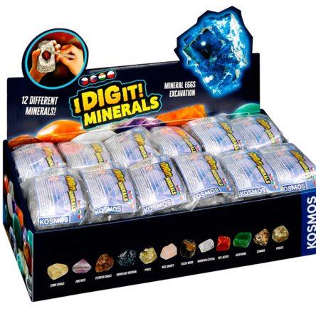 Dig it minerals – Cava minerales (unidades sueltas)