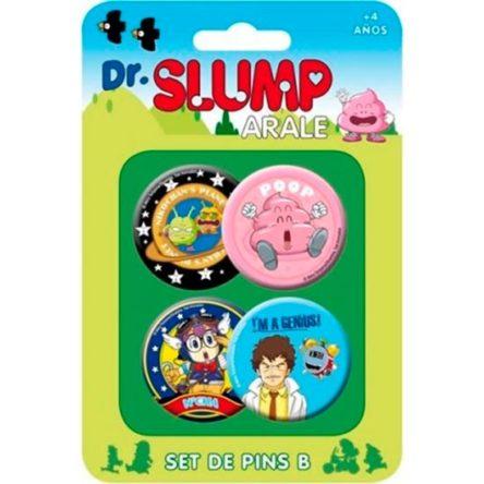 Chapas Dr. Slump Arale varios personajes